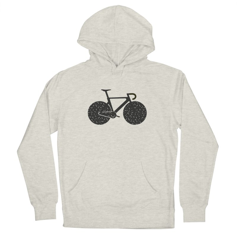 Track Bike Men's Pullover Hoody by Rickard Arvius