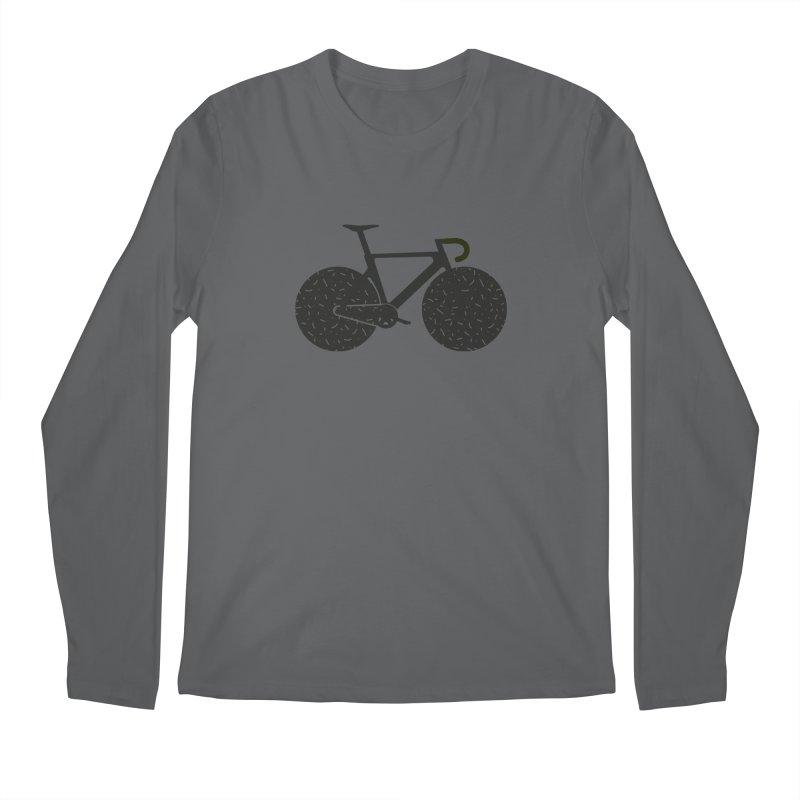 Track Bike Men's Longsleeve T-Shirt by Rickard Arvius