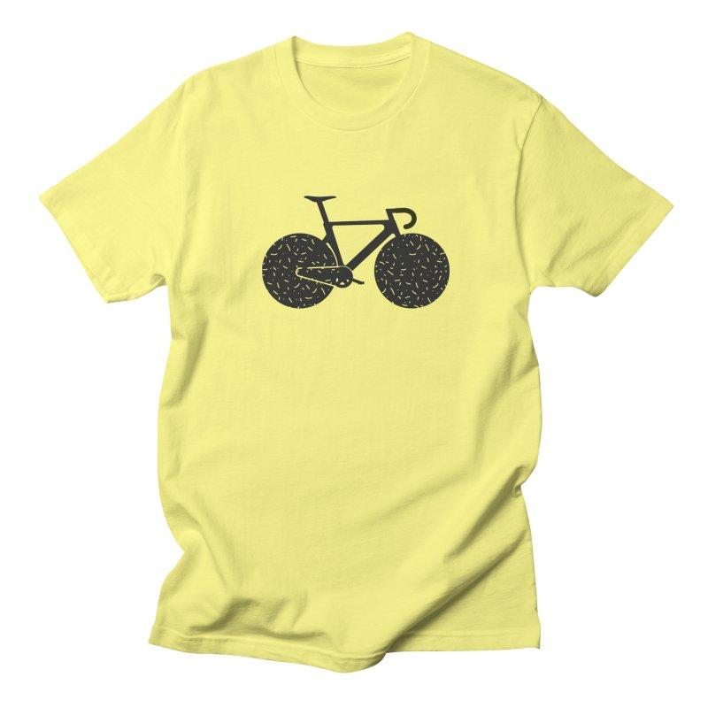 Track Bike Men's Regular T-Shirt by Rickard Arvius