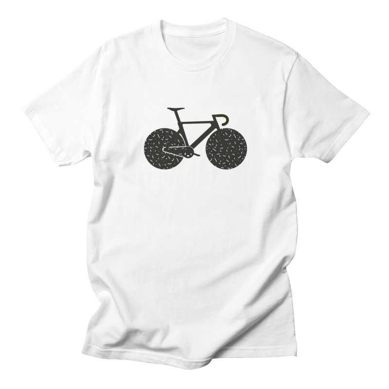 Track Bike Men's Regular T-Shirt by Rickard Arvius