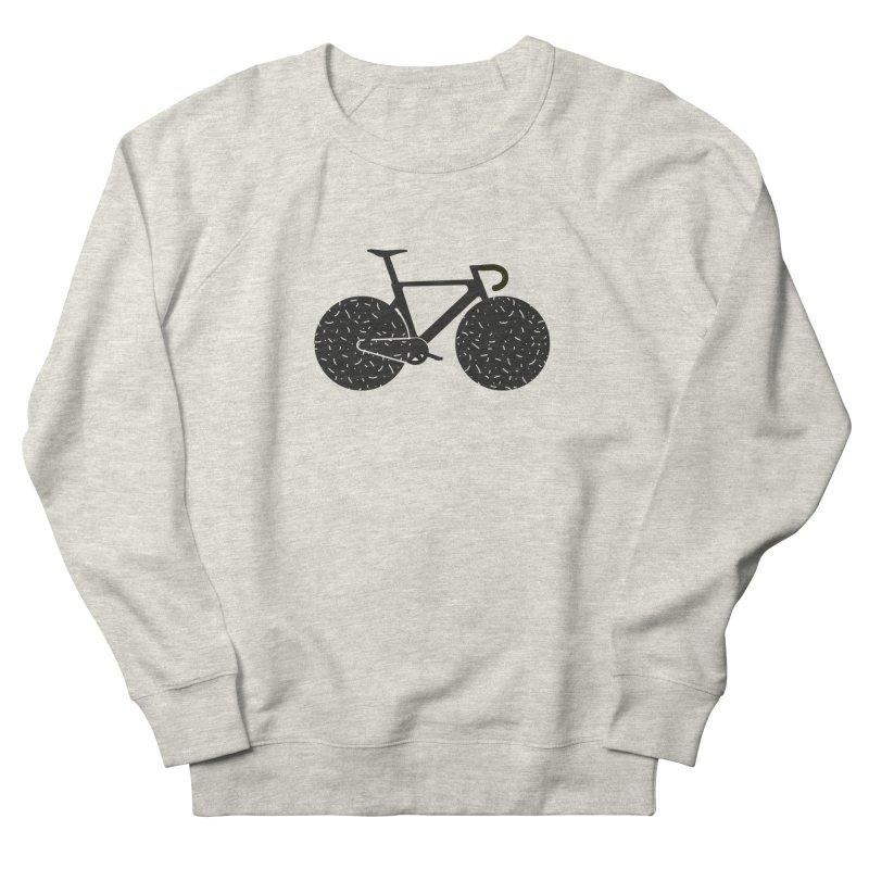 Track Bike Women's French Terry Sweatshirt by Rickard Arvius