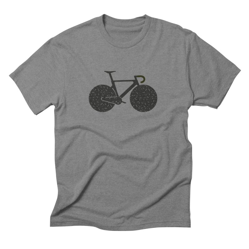 Track Bike Men's Triblend T-Shirt by Rickard Arvius
