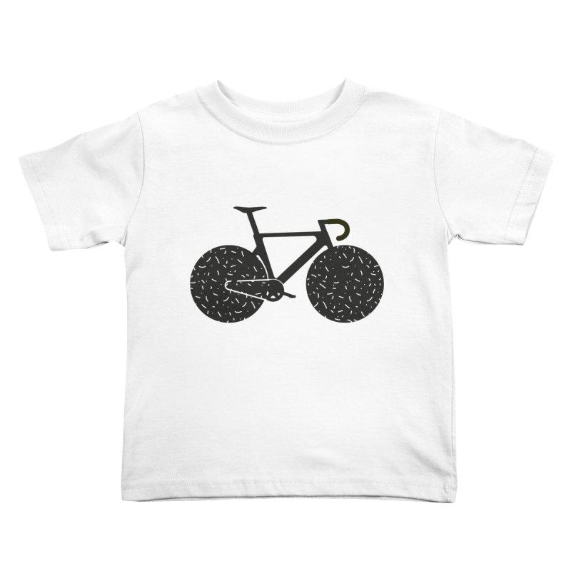 Track Bike Kids Toddler T-Shirt by Rickard Arvius
