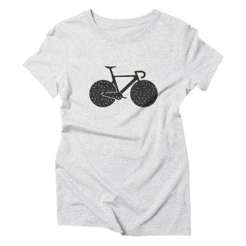 Track Bike Women's T-Shirt by Rickard Arvius