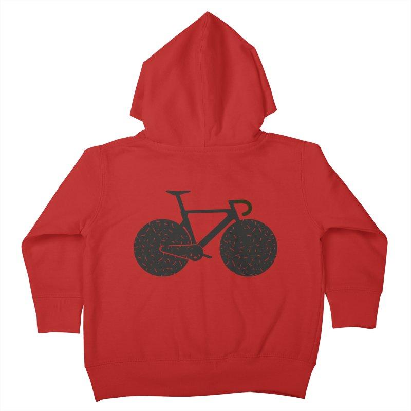 Track Bike Kids Toddler Zip-Up Hoody by Rickard Arvius