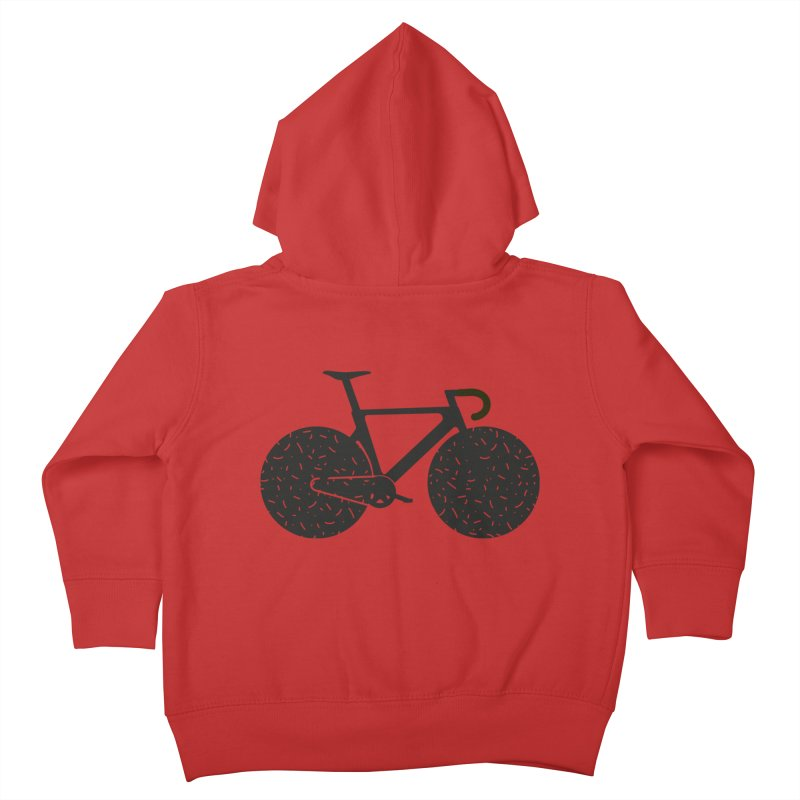Track Bike Kids Toddler Zip-Up Hoody by Rickard Arvius