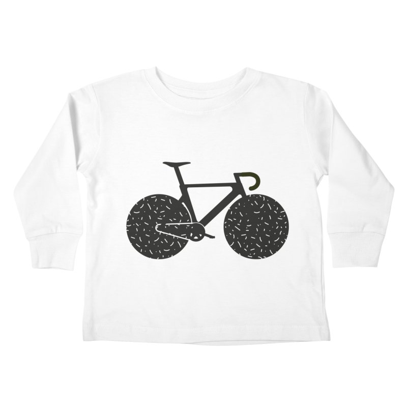 Track Bike Kids Toddler Longsleeve T-Shirt by Rickard Arvius