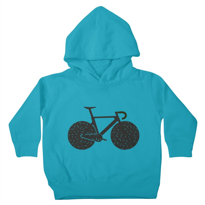 Track Bike Kids Toddler Pullover Hoody by Rickard Arvius