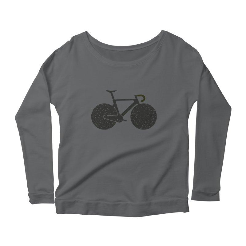 Track Bike Women's Longsleeve T-Shirt by Rickard Arvius