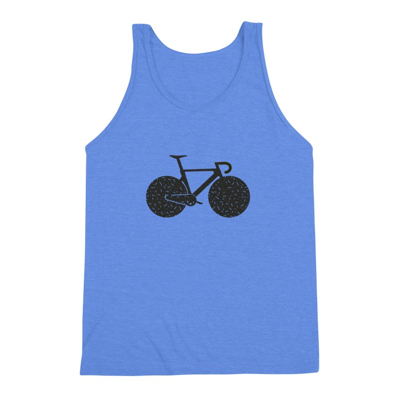 Track Bike Men's Triblend Tank by Rickard Arvius