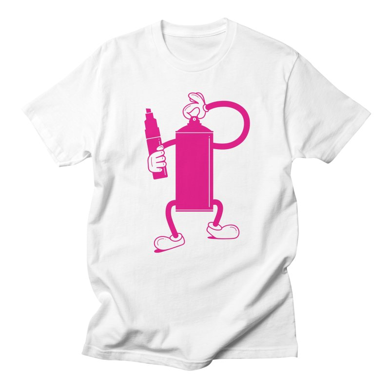 Mr Spray Can Men's T-Shirt by Rickard Arvius