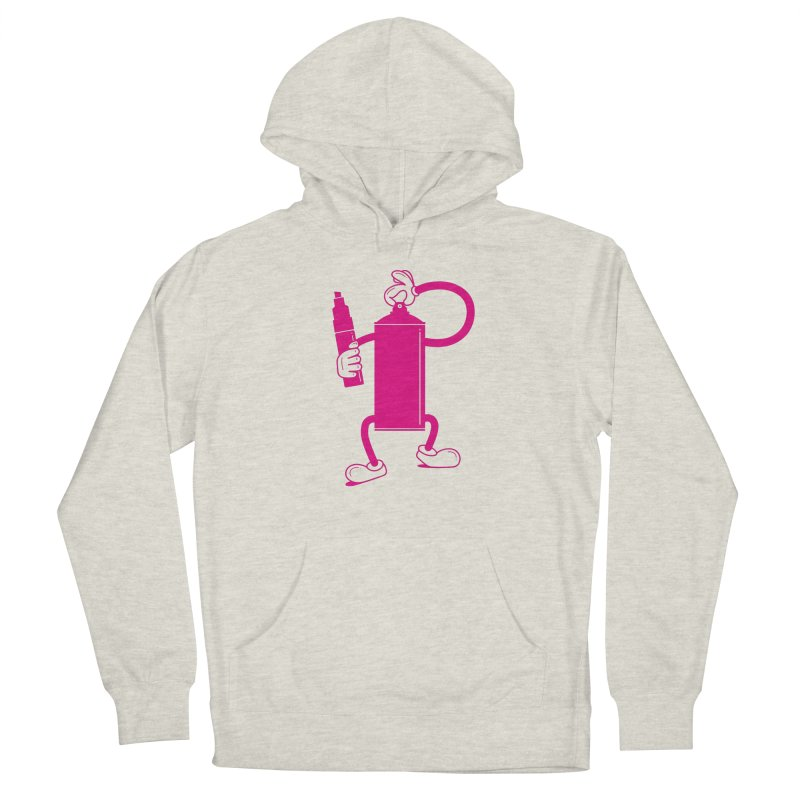 Mr Spray Can Women's Pullover Hoody by Rickard Arvius