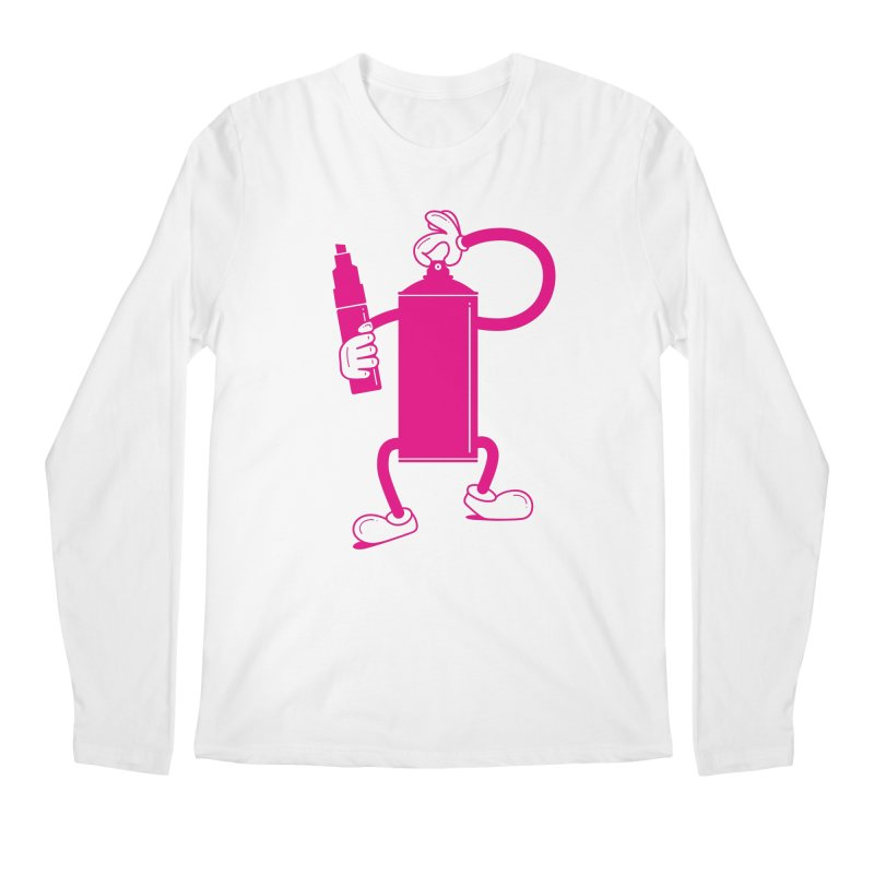 Mr Spray Can Men's Longsleeve T-Shirt by Rickard Arvius