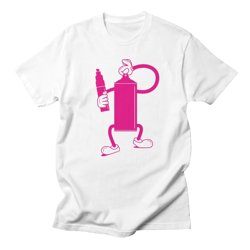 Mr Spray Can Men's Regular T-Shirt by Rickard Arvius