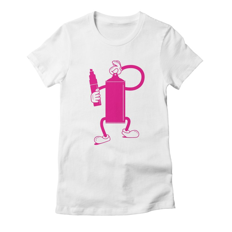 Mr Spray Can Women's T-Shirt by Rickard Arvius
