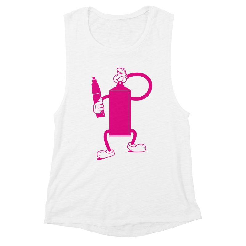 Mr Spray Can Women's Tank by Rickard Arvius