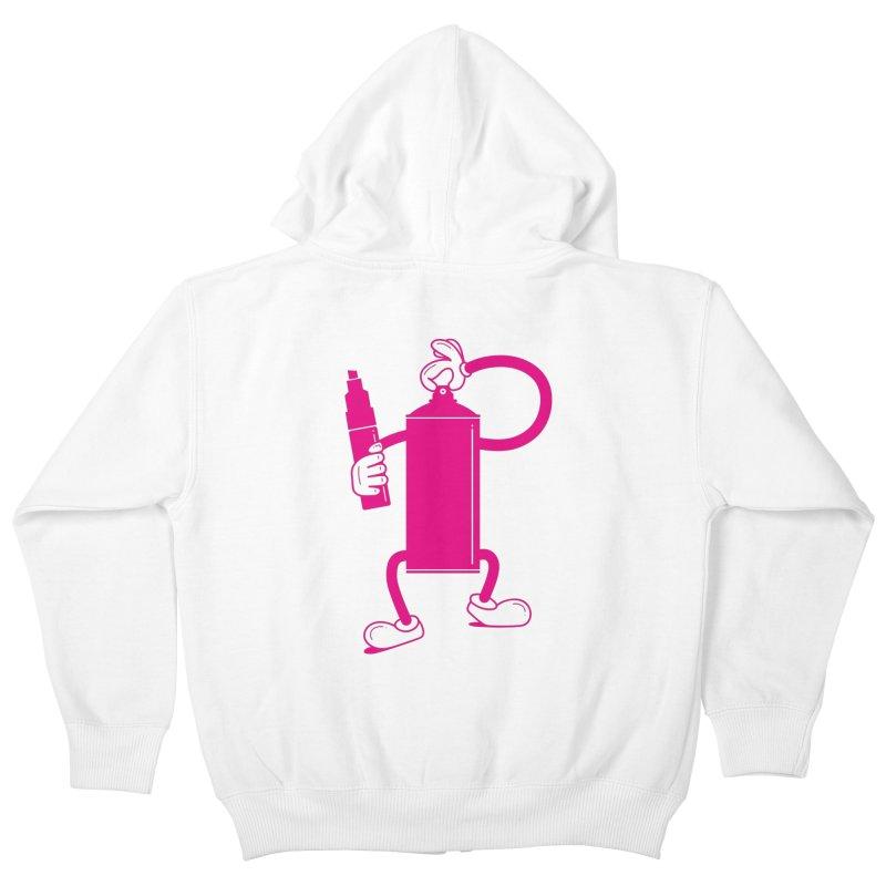Mr Spray Can Kids Zip-Up Hoody by Rickard Arvius