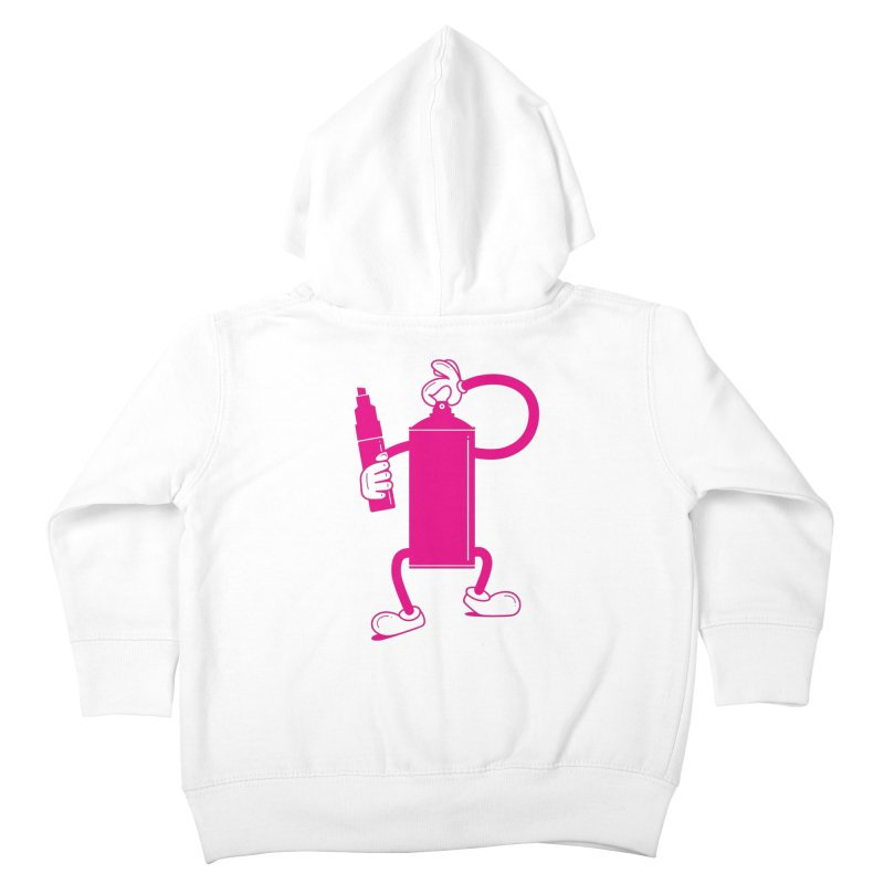 Mr Spray Can Kids Toddler Zip-Up Hoody by Rickard Arvius