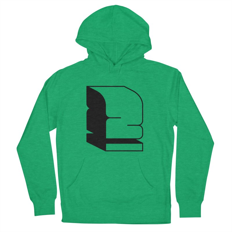 Duno Men's French Terry Pullover Hoody by Rickard Arvius