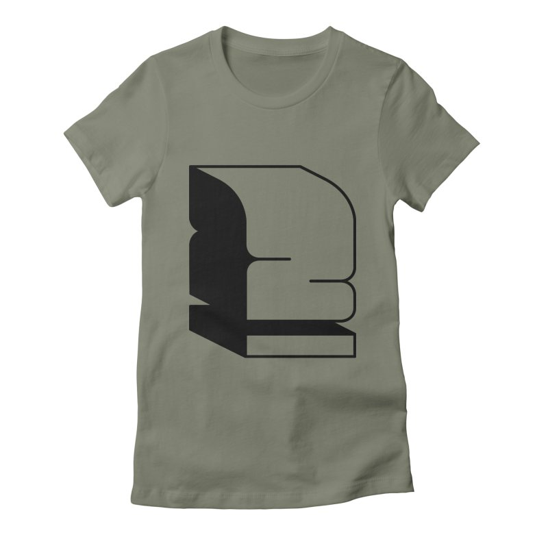 Duno Women's Fitted T-Shirt by Rickard Arvius