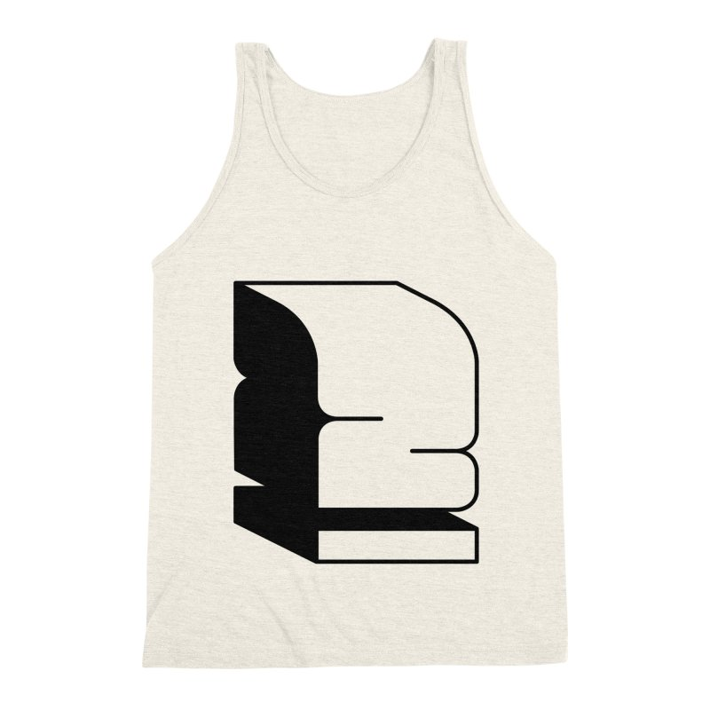 Duno Men's Triblend Tank by Rickard Arvius