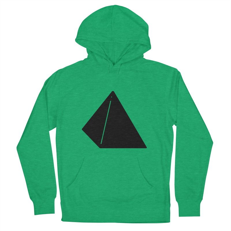 Shapes Pyramid Women's French Terry Pullover Hoody by Rickard Arvius