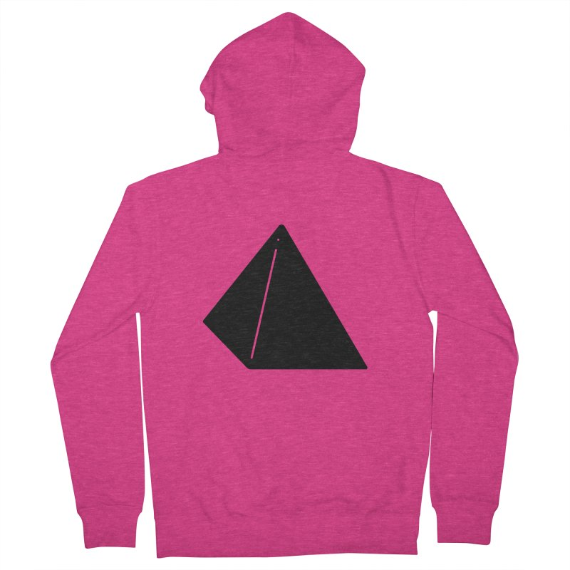 Shapes Pyramid Women's French Terry Zip-Up Hoody by Rickard Arvius
