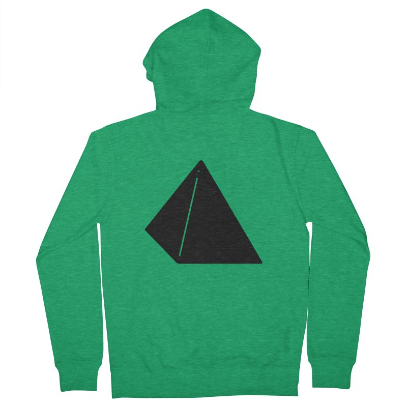 Shapes Pyramid Men's Zip-Up Hoody by Rickard Arvius