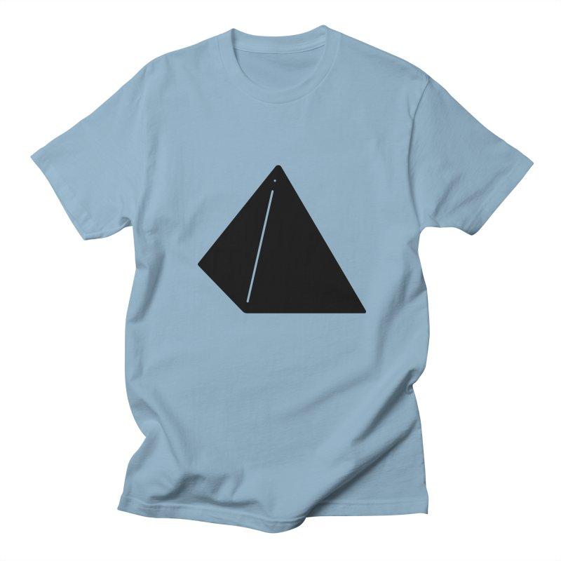 Shapes Pyramid Men's T-Shirt by Rickard Arvius
