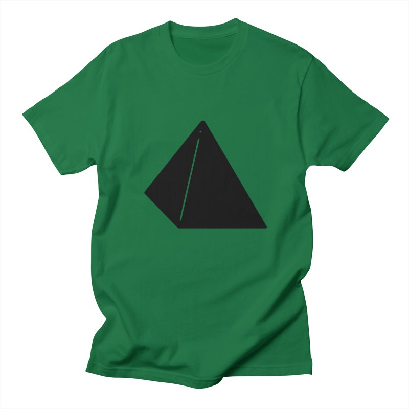 Shapes Pyramid Men's T-Shirt by Rickard Arvius