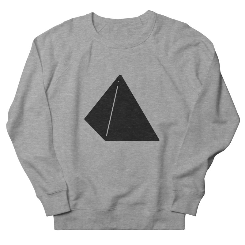 Shapes Pyramid Women's French Terry Sweatshirt by Rickard Arvius