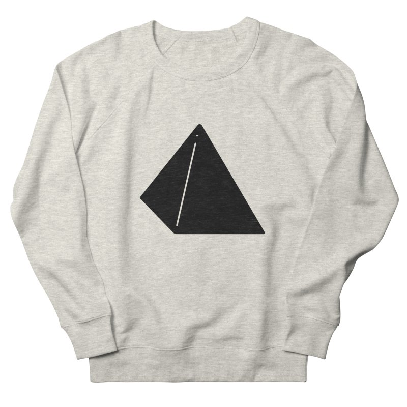 Shapes Pyramid Men's French Terry Sweatshirt by Rickard Arvius