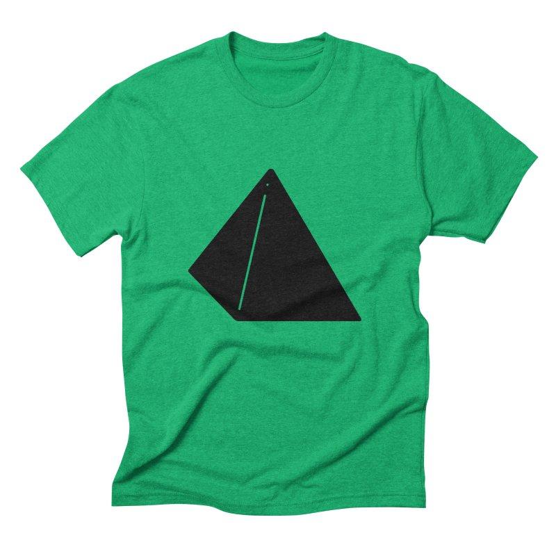 Shapes Pyramid Men's Triblend T-Shirt by Rickard Arvius