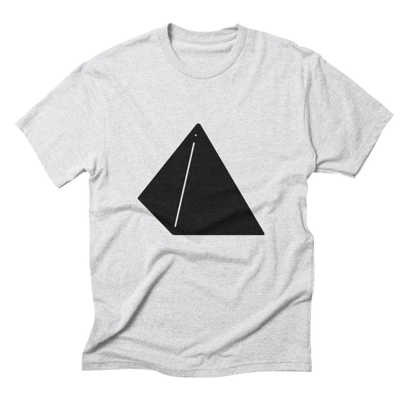 Shapes Pyramid Men's Triblend T-Shirt by Rickard Arvius