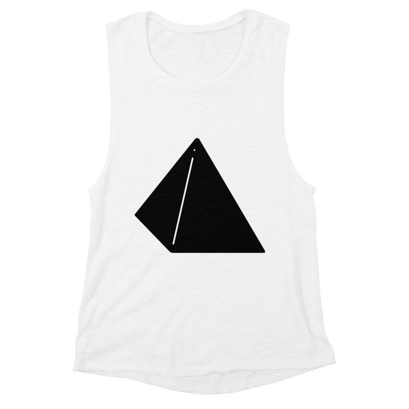 Shapes Pyramid Women's Tank by Rickard Arvius