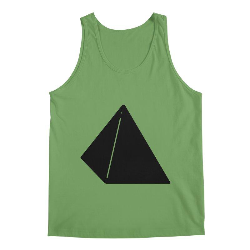 Shapes Pyramid Men's Tank by Rickard Arvius