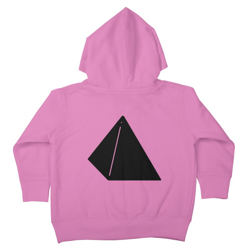Shapes Pyramid Kids Toddler Zip-Up Hoody by Rickard Arvius