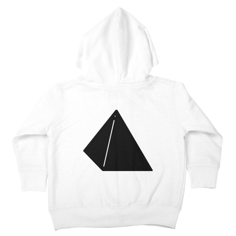 Shapes Pyramid Kids Toddler Zip-Up Hoody by Rickard Arvius