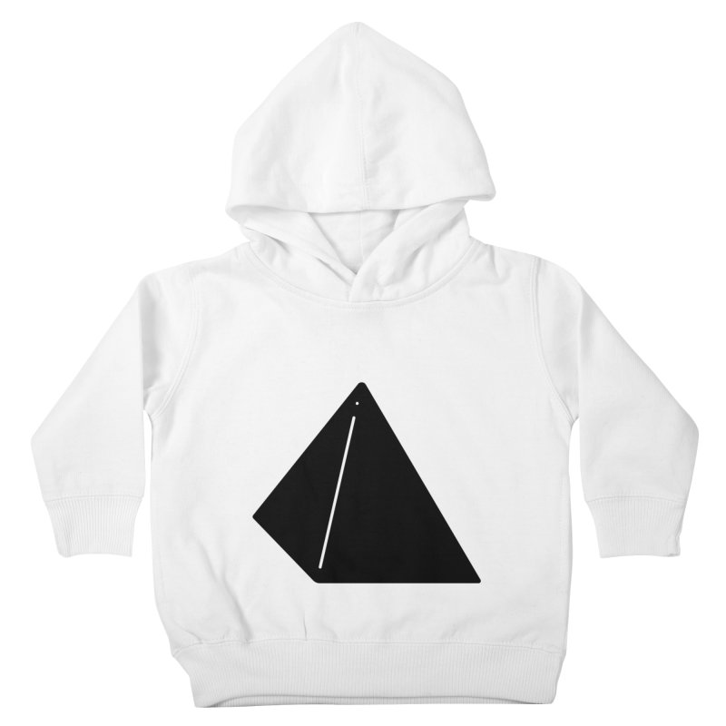 Shapes Pyramid Kids Toddler Pullover Hoody by Rickard Arvius
