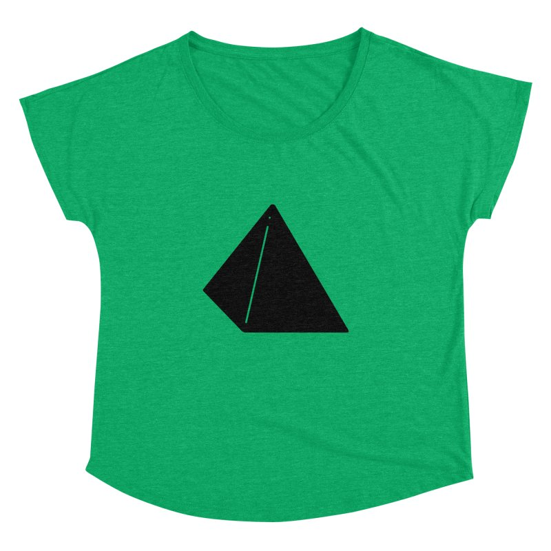 Shapes Pyramid Women's Dolman by Rickard Arvius
