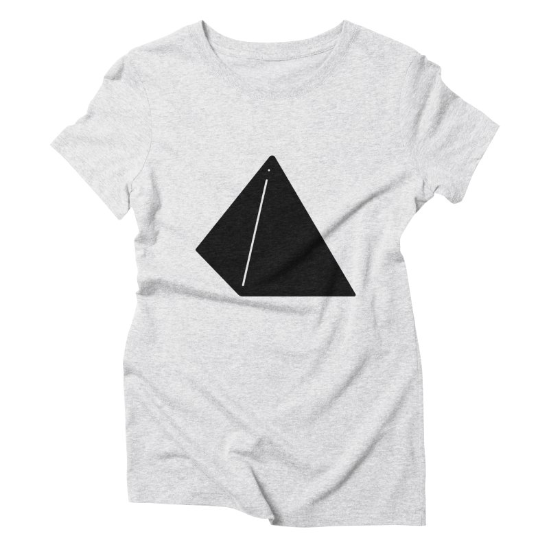Shapes Pyramid Women's T-Shirt by Rickard Arvius