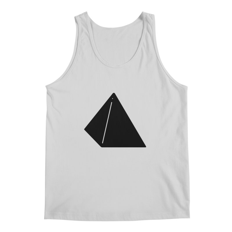 Shapes Pyramid Men's Regular Tank by Rickard Arvius