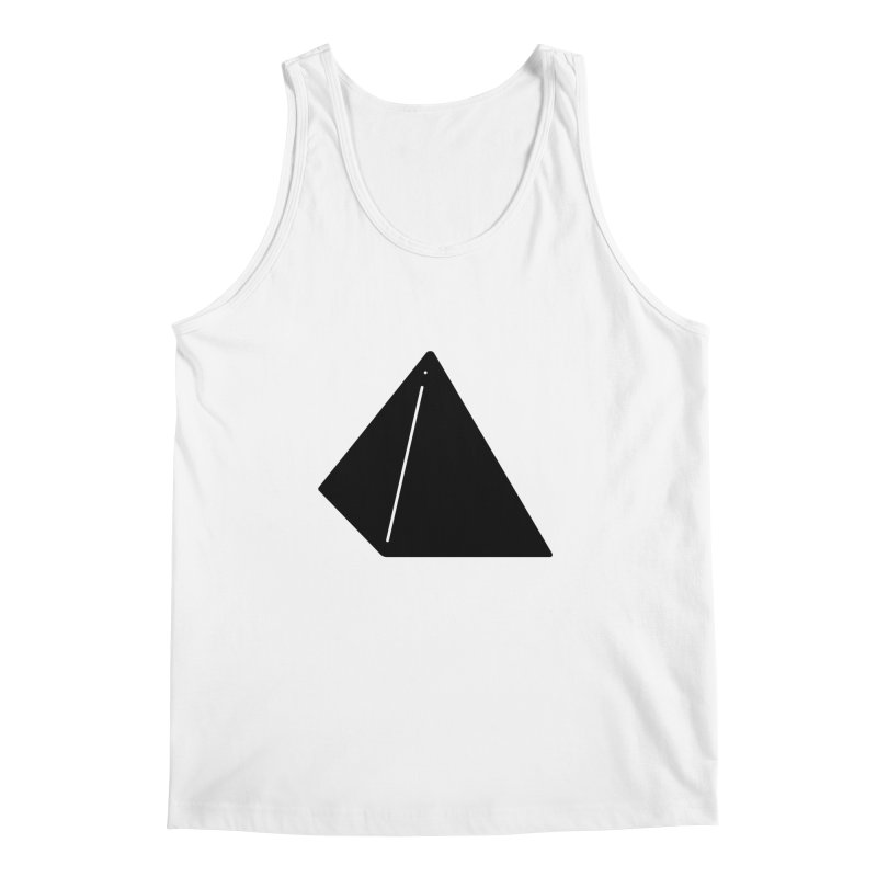 Shapes Pyramid Men's Tank by Rickard Arvius