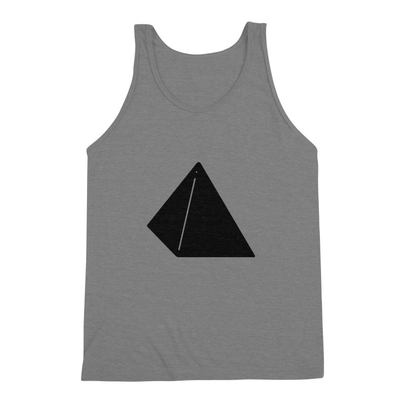 Shapes Pyramid Men's Triblend Tank by Rickard Arvius
