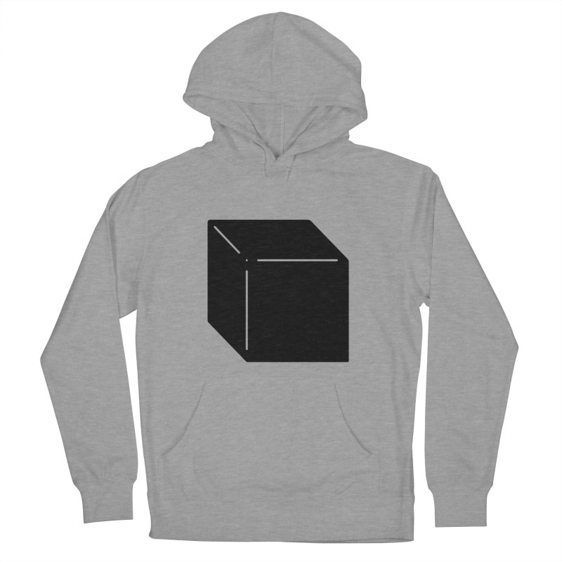 Shapes Cube Women's French Terry Pullover Hoody by Rickard Arvius