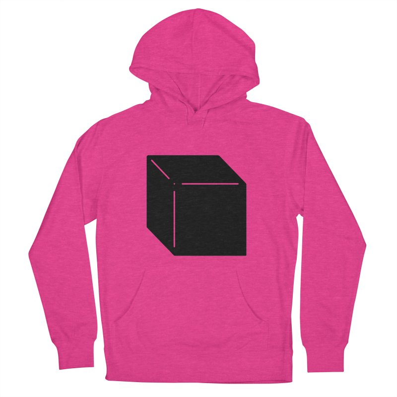 Shapes Cube Men's French Terry Pullover Hoody by Rickard Arvius