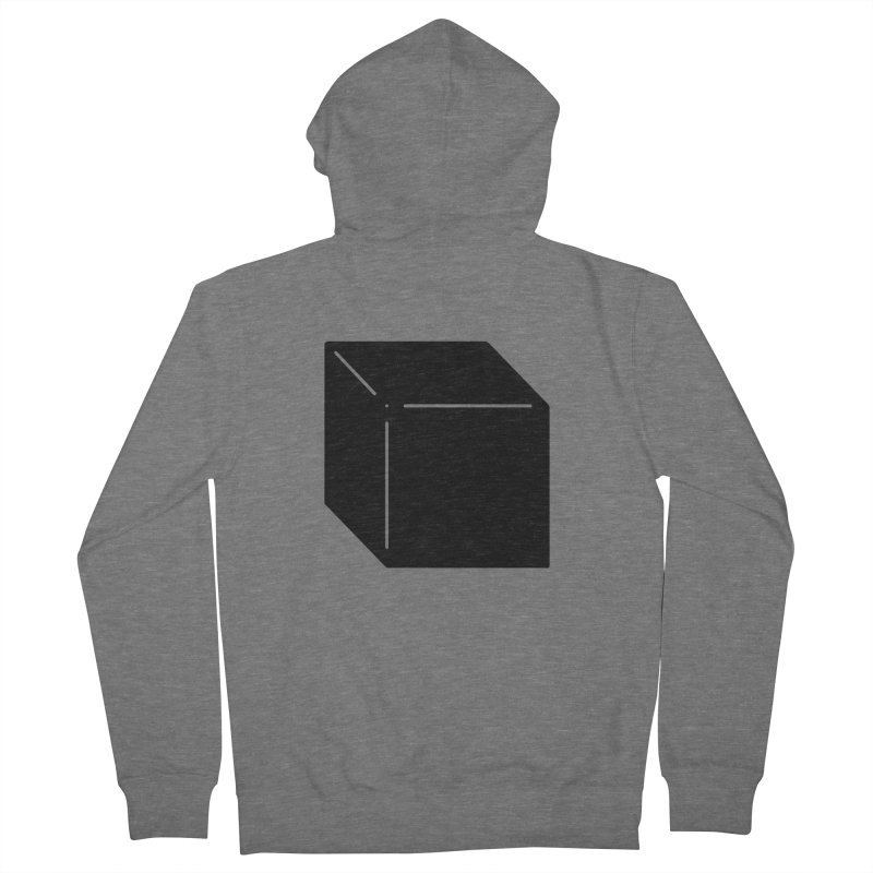 Shapes Cube Women's Zip-Up Hoody by Rickard Arvius