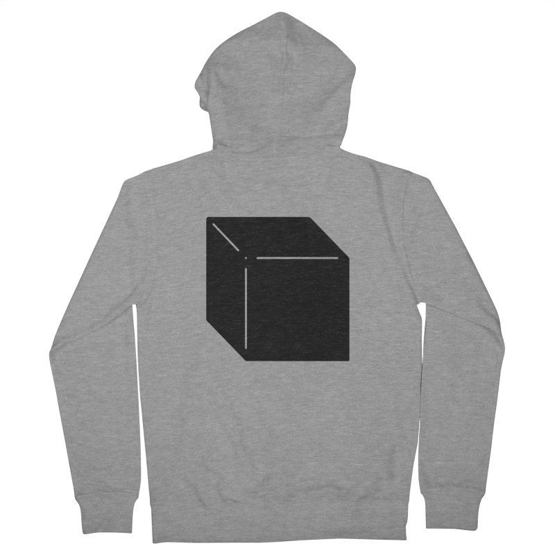 Shapes Cube Men's French Terry Zip-Up Hoody by Rickard Arvius