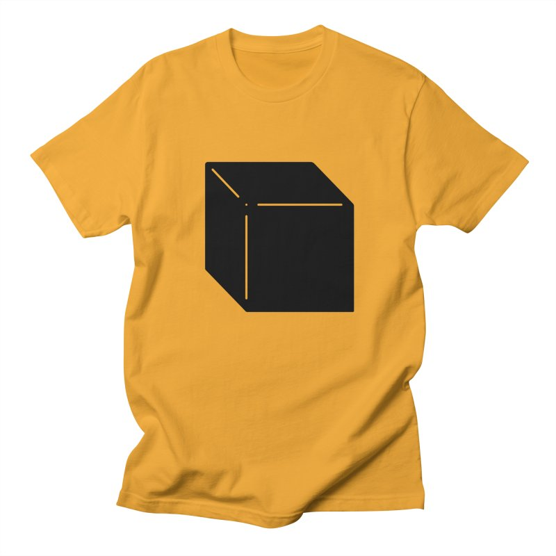 Shapes Cube Men's T-Shirt by Rickard Arvius