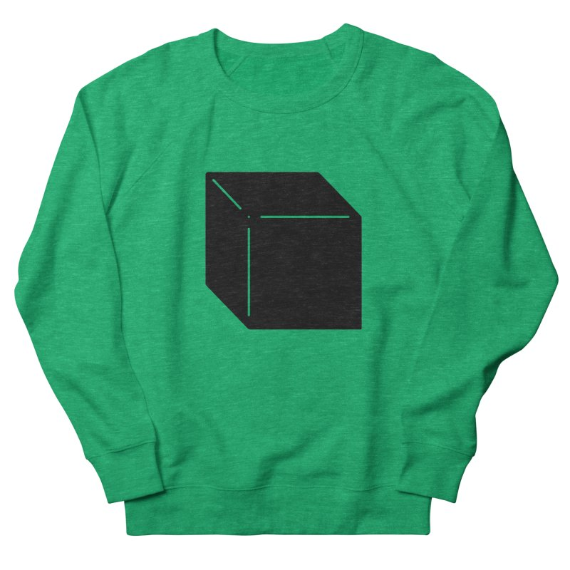 Shapes Cube Men's Sweatshirt by Rickard Arvius